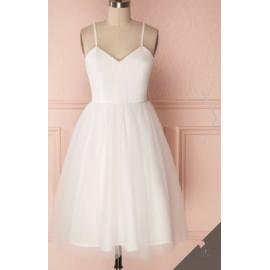 İp askı  tül elbise byz-tr100121