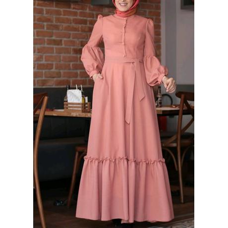 Tesettür elbise byz-k200115