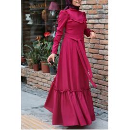 Tesettür elbise çetik byz-k200116